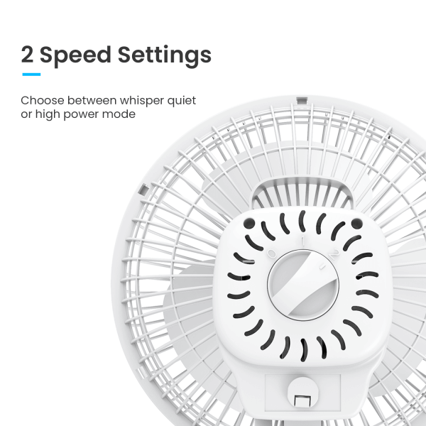 two speed settings