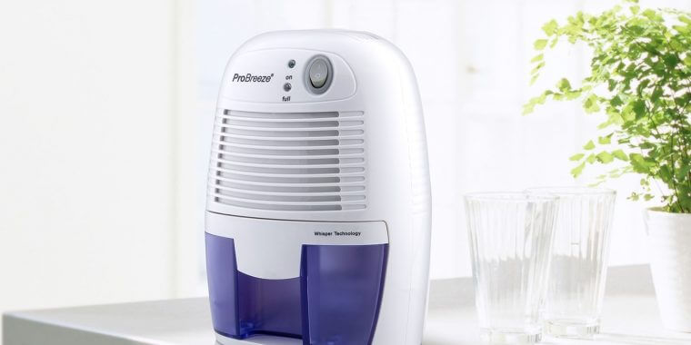 pro breeze 500ml mini dehumidifier