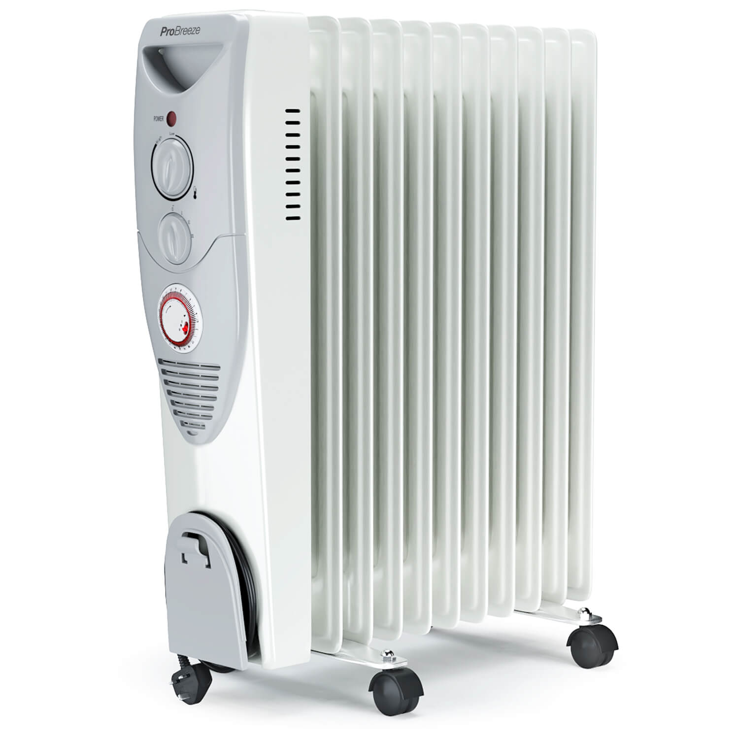 Space Heater, 1500W Oil Filled Radiator