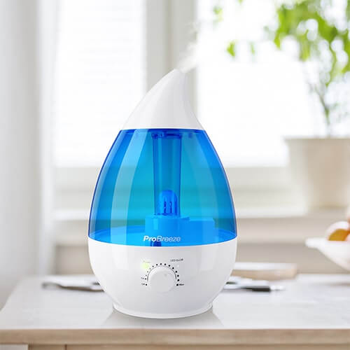 pro breeze cool mist humidifier