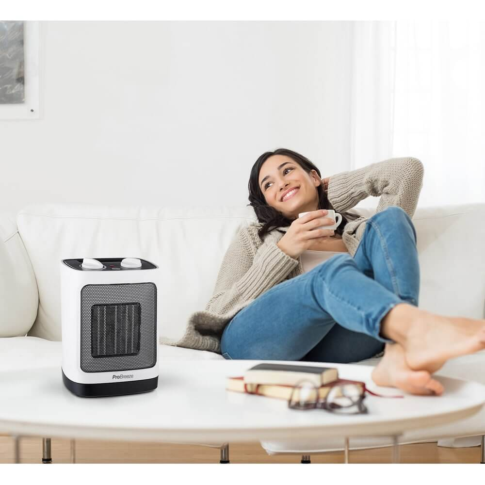 pro breeze mini heater at home