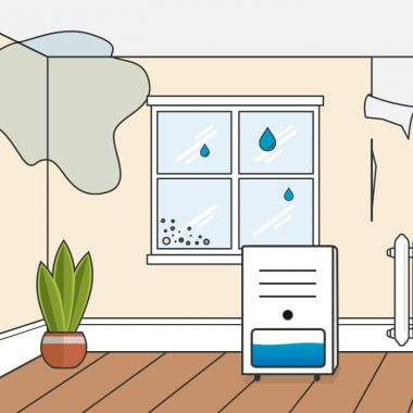 dehumidifier illustration