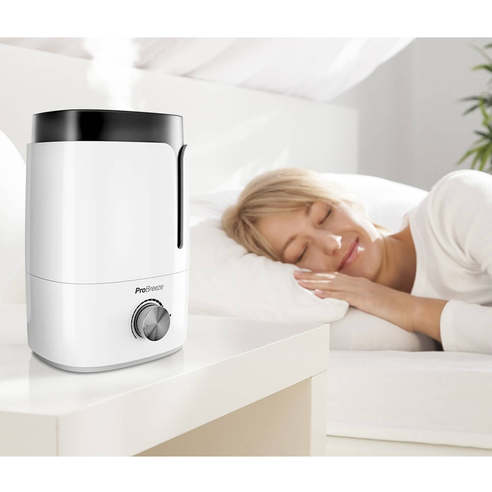 pro breeze humidifier in home
