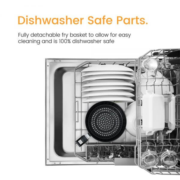 air fryer dishwasher safe parts