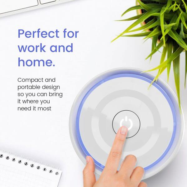 mini air purifier for home and office