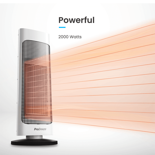 powerful 2000 watt heater