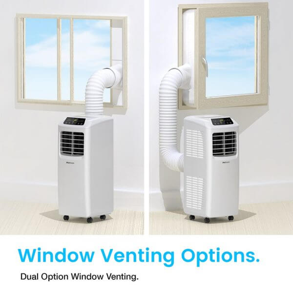 Portable Air Conditioner Unit Window Venting Options