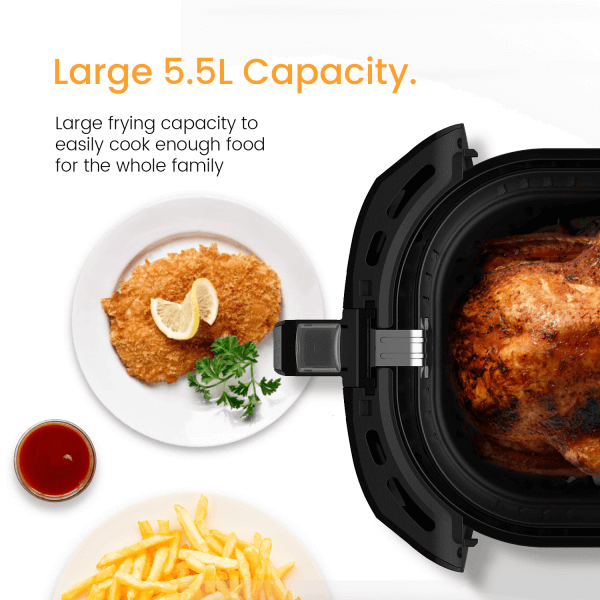 ProBreeze Air Fryer 5.5L Capacity